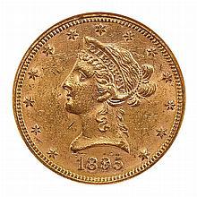 United States 1895 $10 Liberty