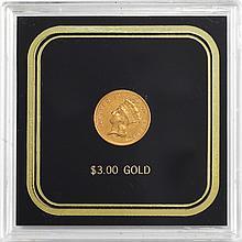 United States 1878 $3 Princess