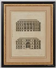 After Robert Adam [ARCHITECTURE STUDIES] Six engravings