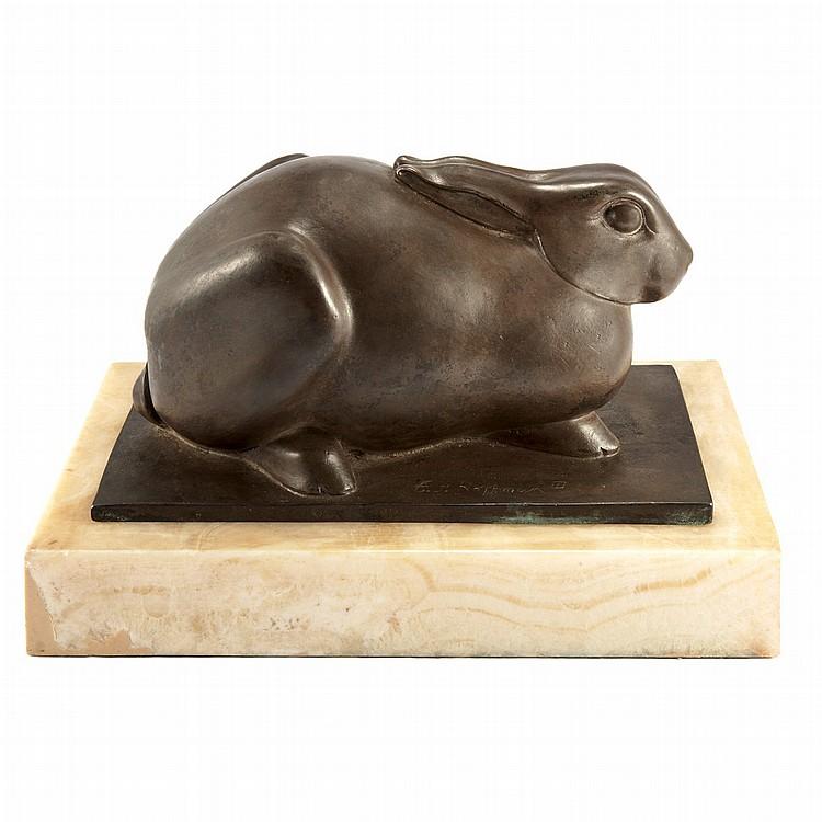 Edward Fenno Hoffman III American 1916-1991 Rabbit, 1964