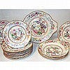Staffordshire Porcelain Partial Dinner Service