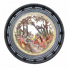 Victorian Floral Diorama
