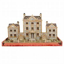 English Mother-of-Pearl Architectural Model