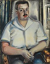 Paul Kleinschmidt German, 1883-1949 Portrait of Erich Cohn, 1934