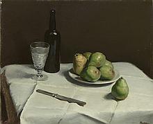 Ogden Minton Pleissner American, 1905-1983 Still Life, 1927
