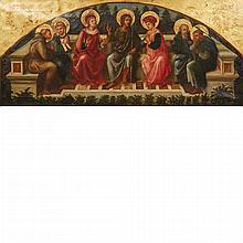 After Filippo Lippi 19th Century Seven Saints