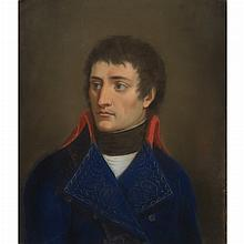 French School Late 18th Century Portrait of Napoleon Bonaparte