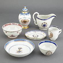 Miscellaneous Group of Chinese Export Porcelain Articles
