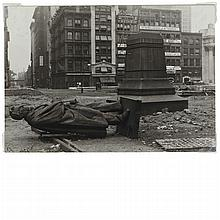 ABBOTT, BERENICE (1898-1991) Union Square [New York City, 1936].