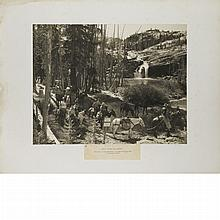 ADAMS, ANSEL (1902-1984) Pack Trip-Glen Aulin-Tuolomne Canyon-Yosemite National Park.
