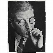 AIGNER, LUCIEN [1901-1999] Chancellor Kurt Schusnigg, 1938.