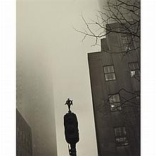 BLUMBERG, KAY SIMMONS [1909-2004] Group of three vintage prints of New York street scenes, 1949-50s. Vintage gelatin silver...