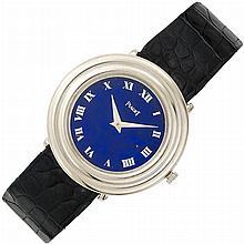 White Gold, Lapis Lazuli and Diamond Wristwatch, Piaget