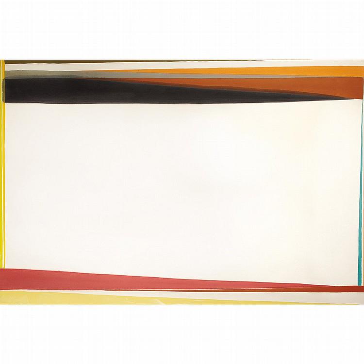 Larry Zox American, 1937-2006 Fowey Light, 1974