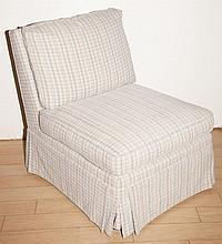 Upholstered Slipper Chair