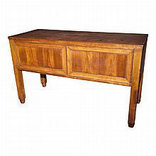German Art Deco Fruitwood Sideboard