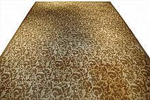 Silk and Wool Tibetan Carpet