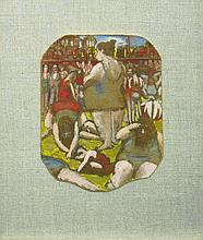 Morris Atkinson Blackburn American, 1902-1979 Study for Appalachian Spring; Together with 20th Century School Bathers