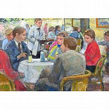 Francois Gall French, 1912-1987 Cafe de la Paix