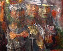 Mitchell Siporin American, 1910-1976 The Steel Puddlers, 1949