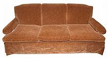Charles of London Style Velvet Upholstered Sofa
