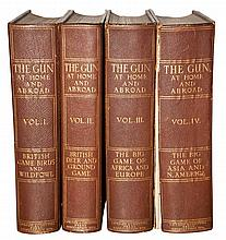 [SPORTING] The Gun at Home and Abroad. London: The London & Counties Press Association, 1912-15. First edition. Four volumes...