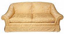 Upholstered Two-Seat Sofa