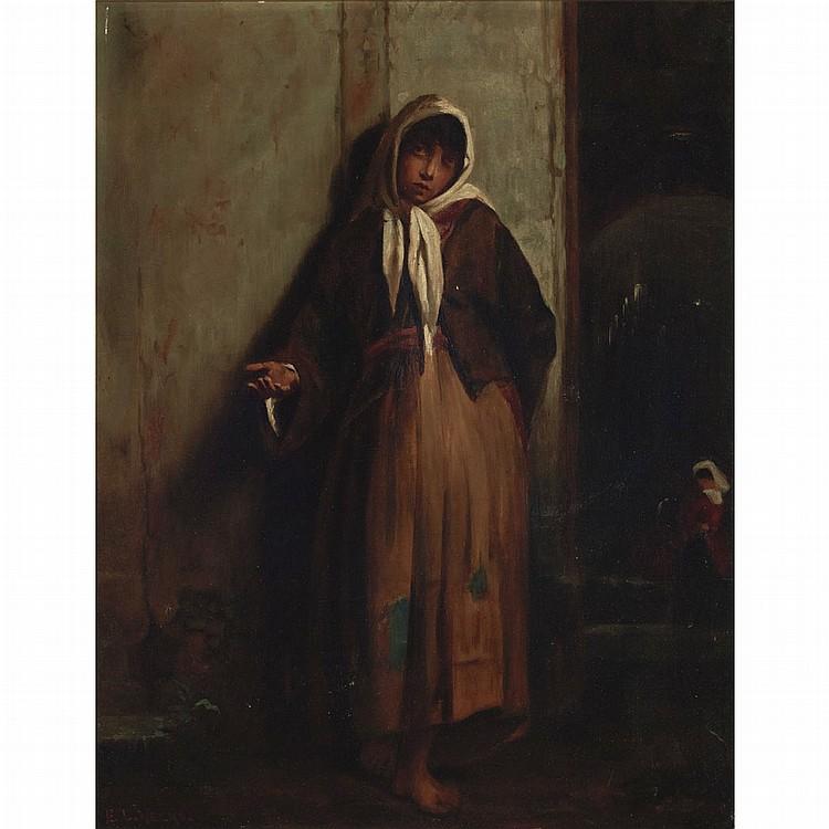 Edwin Lord Weeks American, 1849-1903 Beggar Woman