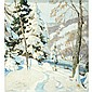 Hobart Nichols, Jr. American, 1869-1962 Winter Wood