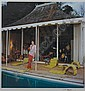 AARONS, SLIM (1916-2006) Untitled [Mrs. William Paley, Round Hill, Jamaica],, Slim Aarons, Click for value