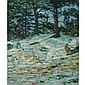 Charles Salis Kaelin American, 1858-1929 Winter Woods   Signed C. S. Kaelin (ll) Oil on canvas 24 1/8 x...