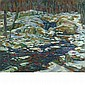 Charles Salis Kaelin American, 1858-1929 Snowy Woodland   Signed C. S. Kaelin (lr) Oil on canvas 24 x 28...