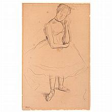 Edgar Degas French, 1834-1917 Danseuse