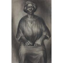 Charles Wilbert White American, 1918-1979 I Been Rebuked and I Been Scorned, 1954   Signed Charles White and...