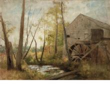 Charles Henry Miller American, 1842-1922 Old Mill, 1874