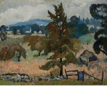 Richard Hayley Lever American/Australian, 1876-1958 Summer, Woodstock, NY, 1923