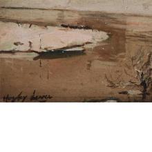 Richard Hayley Lever American/Australian, 1876-1958 Landscape with Tree