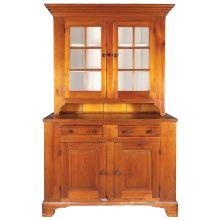 Chippendale Pine Stepback Cupboard