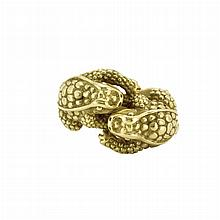 Gold Frog Ring, Barry Kieselstein-Cord
