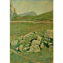 Mariano Fortuny y de Madrazo Spanish, 1871-1949 Mountain Plateau