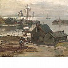 Emile Albert Gruppe American, 1896-1978 Cove at Lanesville, Gloucester
