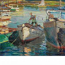 Antonio Cirino American, 1889-1983 Opalescent Hour