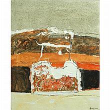 Paolo Buggiani Italian, b. 1933 La Terra dei Ferrici, 1961