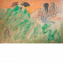 Robert Beauchamp American, 1923-1995 Figures in the Grass, 1960