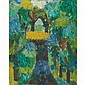 Jan Muller American, 1922-1958 Untitled (Landscape), circa 1955
