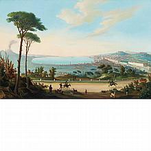 Neapolitan School 19th/20th Century View of the Bay of Naples