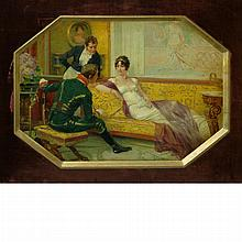 Rene Lelong French, 1871-1938 Madame Recamier, 1892
