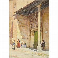 Alexander Mann Scottish, 1853-1908 San Benito, Salamanca