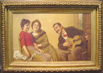Gaetano Bellei Italian, 1857-1922 SWEET SERENADE