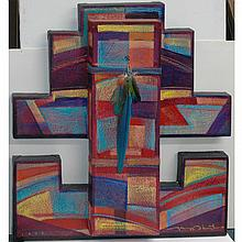 Tony Abeyta American, b. 1965 Abstract, Ritual, 1988